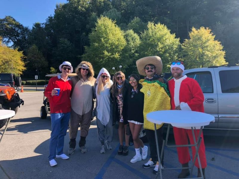 2020 Fall Color Cruise Halloween costume contest