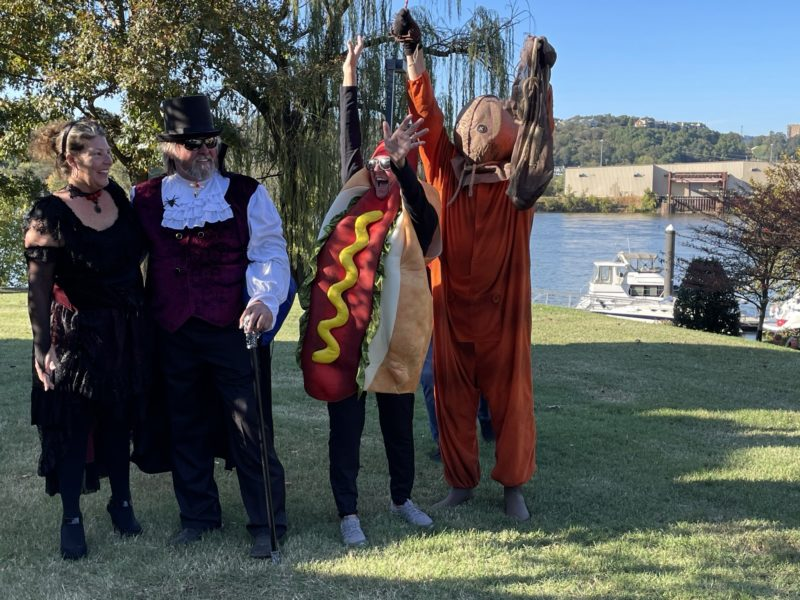 2020 Fall Color Cruise Halloween costume contest winner