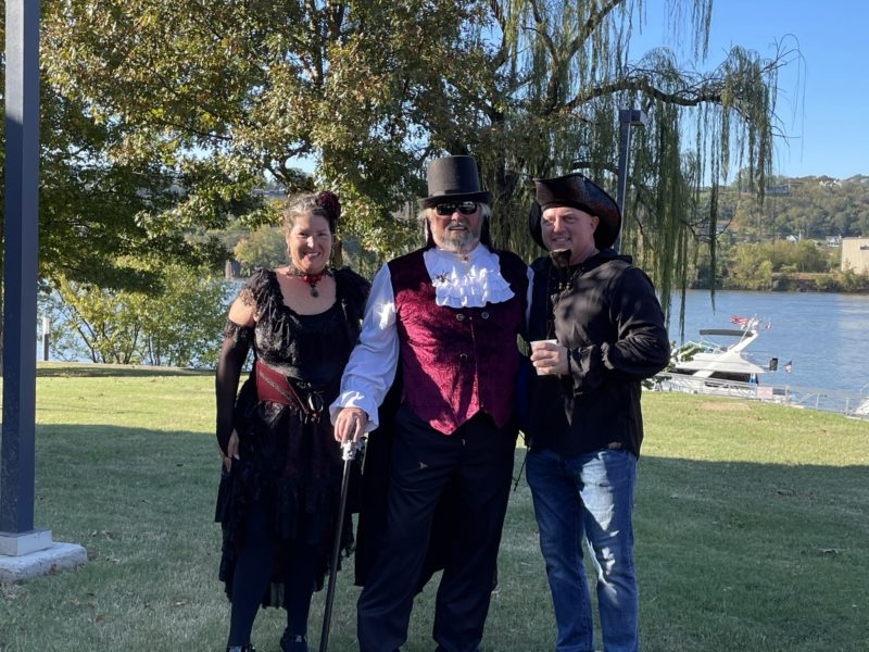 2020 Fall Color Cruise Halloween costume contestants 2